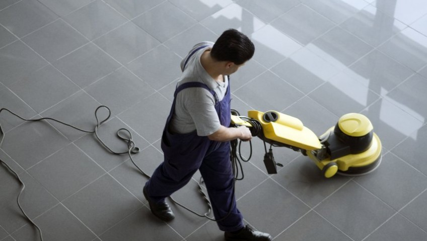 cleaning service gedung